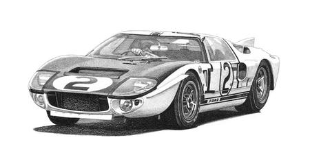 GT40 Chassis #107
