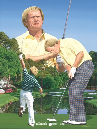 Masters Tribute (Autographed by Nicklaus)